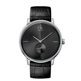 Calvin Klein CK手表ACCENT系列情侣表男表简约时分针独立秒盘石英表K2Y211C3 候鸟