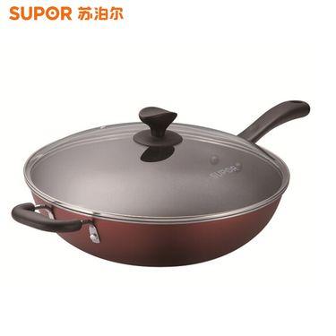 苏泊尔 (SUPOR) 32cm炫彩易洁不粘炒锅NC32F4