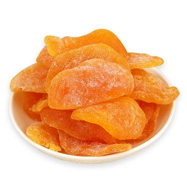 沃疆 黄桃果干110g*2罐装 果脯果干 酸甜可 口 蜜饯零食