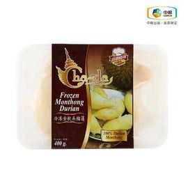 中粮 问鼎食神泰国金枕头榴莲肉(盒装400g)