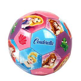 DISNEY 迪士尼2号儿童足球公主车缝儿童拍拍球幼儿园皮球玩具球 D626-D 粉红色公主D626-D