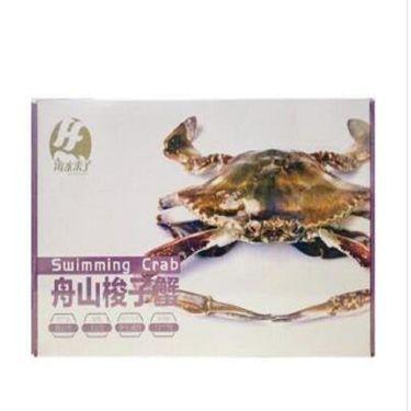 中粮 活冻舟山梭子蟹 (1只)300g 盒装