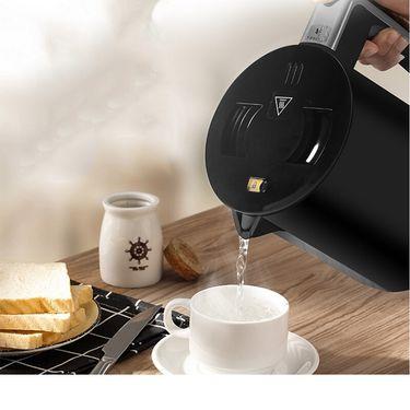Panasonic 松下 NC-HKT081 家用不锈钢电热水壶 0.8L 1200W 大功率 快速沸腾 即烧即饮