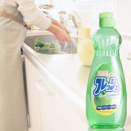 inomata 日本进口洗洁精 餐具洗涤剂 碗碟餐具瓜果蔬菜洗洁剂 油污清洁剂