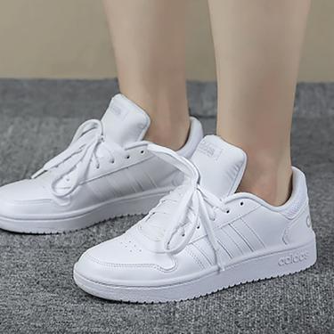 阿迪达斯 adidas女鞋新款neo运动鞋HOOPS 2.0低帮小白鞋轻便休闲鞋板鞋B42096