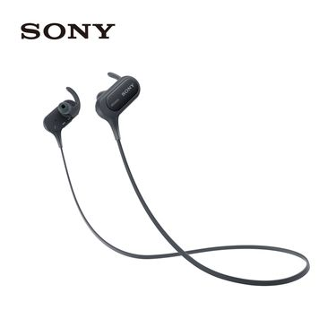 SONY 索尼 MDR-XB50BS无线蓝牙耳机运动型入耳式手机通话线控防水