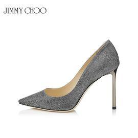 Jimmy Choo /周仰杰 女士高跟鞋 ROMY100 LAG 贴合角度 赠送厚木丝袜 洲际速买