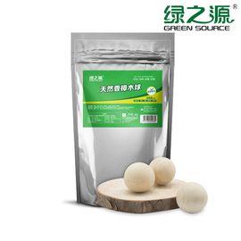 绿之源 香樟木球1.8cm*250粒精品装 Z-0563 书桌衣柜防霉防蛀虫替代樟脑丸