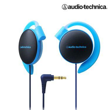 铁三角 【正品特卖】轻量便携时尚运动舒适挂耳式耳机ATH-EQ500BL