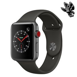 Apple/苹果 Apple Watch Series 3智能手表(GPS 42毫米 深空灰色铝金属表壳  MQQT2CH/A)