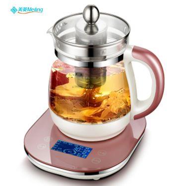 美菱 MeiLing 多功能煮茶壶 加厚玻璃煮茶器家用保温电水壶MH-2802