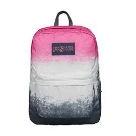 JANSPORT 杰斯伯 男女款双肩背包校园休闲包书包 T501 0B3多彩色粉红色阴影