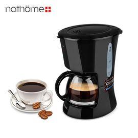 北欧欧慕 NKF6007 家用全自动咖啡机煮咖啡机保温咖啡壶
