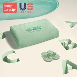 babycare 婴儿浴巾 新生儿初生宝宝洗澡纱布吸水儿童盖毯超柔
