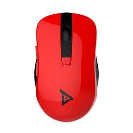 钛度 静音2.4G无线光学鼠标 TWG100红色