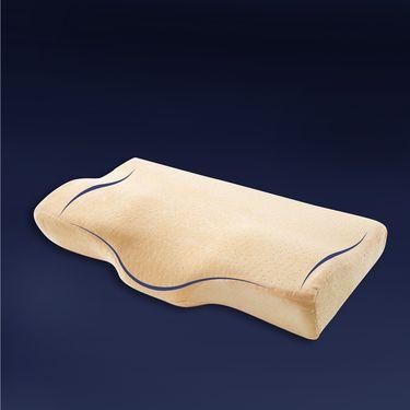 沁园 蝶形止鼾枕 成人单人蝶形枕记忆枕防打呼噜打鼾枕头