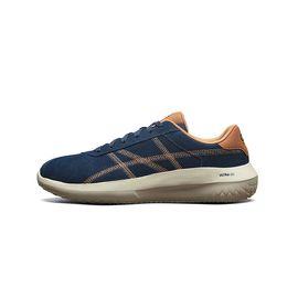 斯凯奇 Skechers男鞋新款时尚绑带低帮鞋 轻便减震休闲鞋 18543
