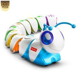 费雪 Fisher Price 探索科技毛毛DKT39玩具开发大脑(限时赠送探索学习书包1个)