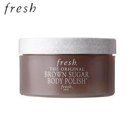 fresh/馥蕾诗 棕糖保湿嫩肤身体磨砂 200g  去角质  深层清洁