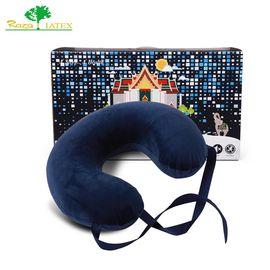 Raza LATEX 原装进口乳胶U型枕头 护颈枕