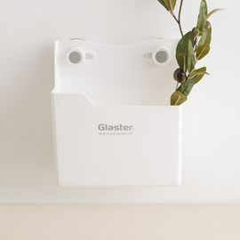 Glaster 【不挑墙置物架】韩国原产 强力无痕吸盘挂架家居收纳盒置物架