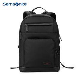 samsonite 新秀丽双肩包男女休闲电脑包防泼水大容量商务背包