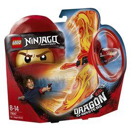 乐高  玩具 幻影忍者 Ninjago 8岁-14岁 凯-火焰能量神龙大师 70647 积木LEGO