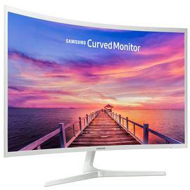 三星 /SAMSUNG C32F395FWC 白 31.5英寸曲面 1800R曲率 广视角可壁挂  液晶电脑显示器