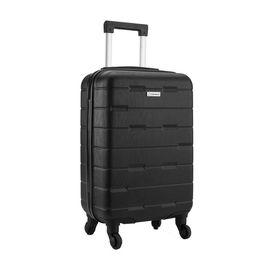 DIPLOMAT 外交官  万向轮拉杆箱行李箱登机箱YH-6212 黑色 20英寸 内置USB接口 新品首发