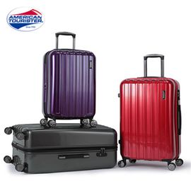 samsonite 新秀丽 零售同款 全球联保 Samsonite/ 新秀丽旗下美旅24Q拉杆箱 万向轮行李箱 扩展层旅行箱