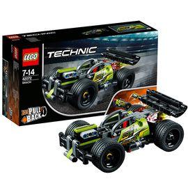 乐高 机械组42072高速赛车旋风冲击 LEGO Technic 积木玩具