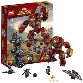 乐高 超级英雄系列76104反浩克装甲复仇者联盟3钢铁侠LEGO积木玩具
