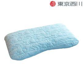 西川 NiSHiKaWa 日本进口儿童枕3-10岁健康枕头呵护颈椎枕可水洗 58*35cm