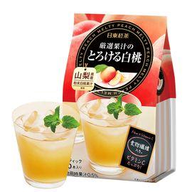 日东红茶 NITTOH日东 日本进口白桃味速溶奶茶 92g/袋