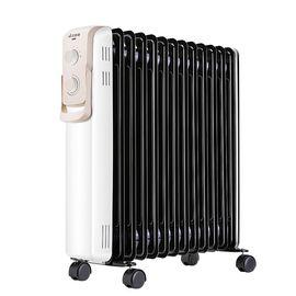艾美特 (AIRMATE)【新品】取暖器家用13片电暖器/节能电暖气/油汀暖气片HU1329-W 黑色