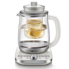 Bear 小熊 养生壶 燕窝炖盅壶加厚玻璃电热水壶多功能煮茶壶花茶壶 带滤网 YSH-A18U2 白色 1.8L