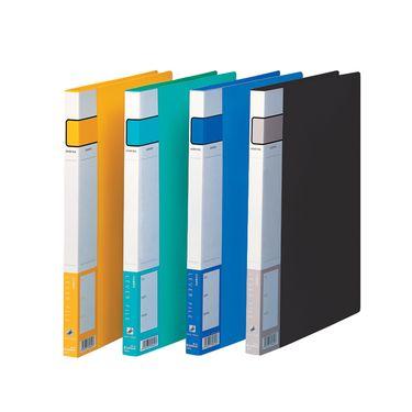 齐心 (Comix) A300 A4文件夹/资料夹/单弹簧夹 颜色随机 办公文具