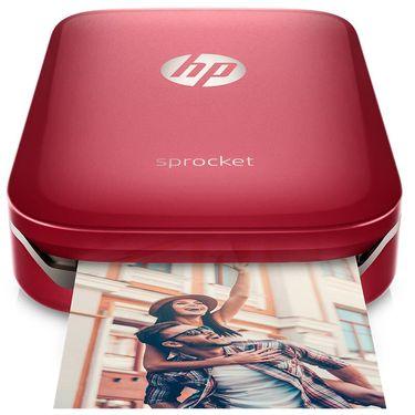HP  惠普小印Sprocket 100(黑) 手机口袋照片打印机 年会礼品 圣诞节日礼物 蓝牙连接 手账必备