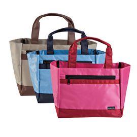 齐心 (Comix)A2355时尚手提式便当袋手拎袋饭盒包双层多色帆布袋 颜色随机