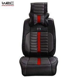 WRC 运动碳纤纹汽车坐垫宝马奥迪四季通用速腾福克斯途观透气座垫