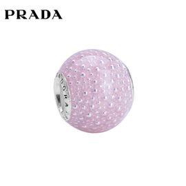 PANDORA 潘多拉 粉色魔法925银珐琅配饰797091EN160 洲际速买