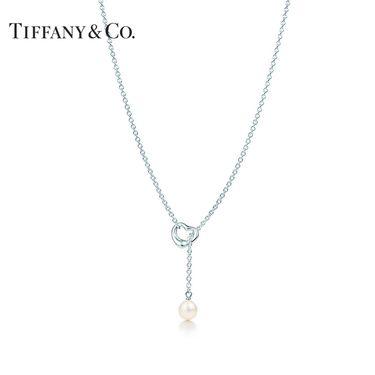 蒂芙尼Tiffany&co. ELSA PERETTI® Open Heart 珍珠心扉项链 925银
