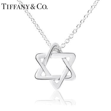 蒂芙尼Tiffany&co. ELSA PERETTI系列 925银 时尚六芒星 项链