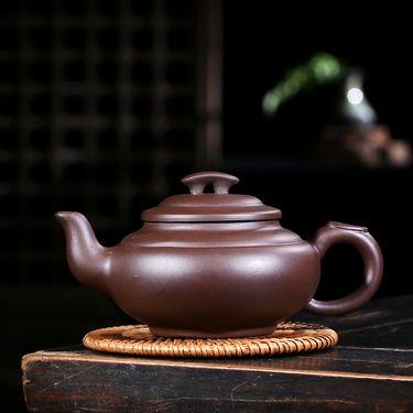 安居行 宜兴紫砂壶 原矿紫泥 上新桥茶壶  紫砂壶