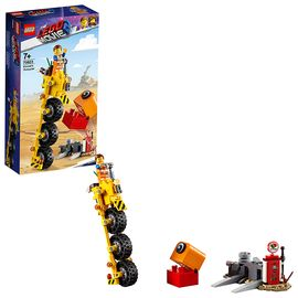 LEGO 乐高 大电影2 艾米特的三轮自行车 70823