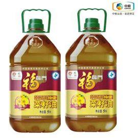 福临门 非转基因纯香菜籽油5L*2