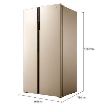 【易购】美的冰箱BCD-598WKPZM(E)阳光米