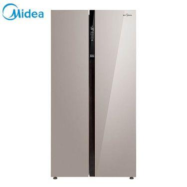 【易购】美的冰箱BCD-521WKM(E)阳光米 线上