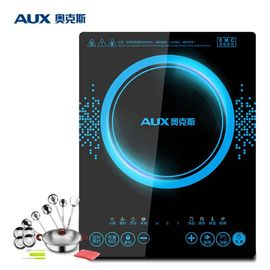 【易购】奥克斯(AUX)电磁炉 CM2099L 智能触控式 多功能8档烹饪功能 赠厨具防水可预约电磁炉 大功率