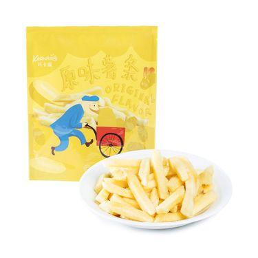 薯片 【美式原切 健康低卡】可卡滋 原切薯条150g(50g*3)